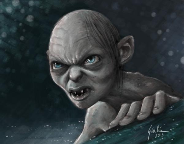 Gollum by JuJu